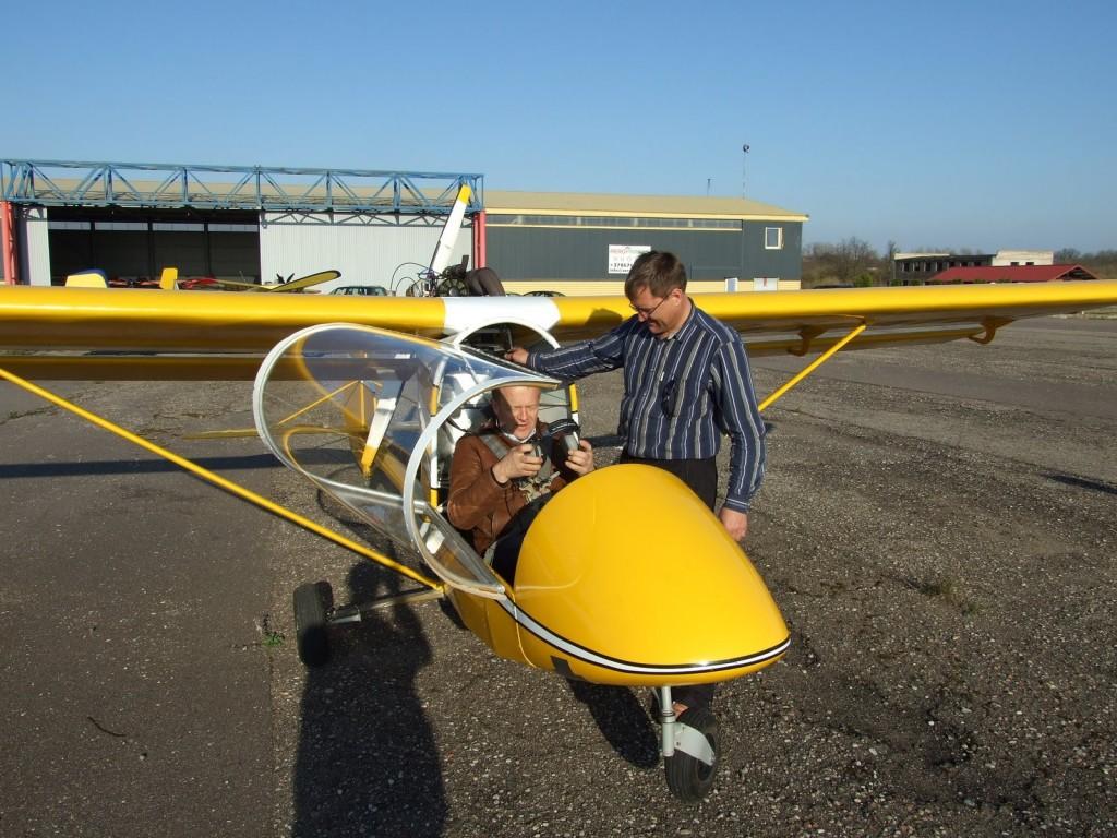 RK-7 pasistatė ir juo skraido Gintas G. iš Kėdainių