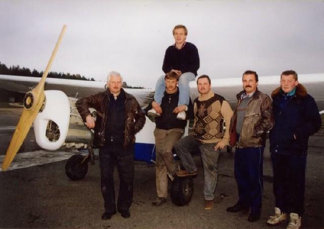RK-3 Vėjas pakilo į orą 1995 m spalio 26 d. Liudininkai...